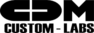 CDM Custom Labs Logo